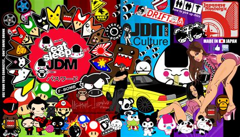 Sticker Stiker Mobil Motor My Dohc Jdm jdm by michaelludwig on deviantart
