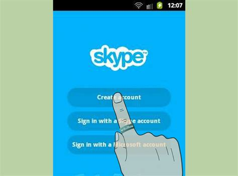 how to use skype on android how to get skype on android 5 steps with pictures wikihow