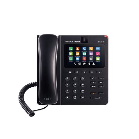 Grandstream Gxv 3240 Ip Phone Multimedia Untuk Android grandstream gxv3240 ip for android ip phone market