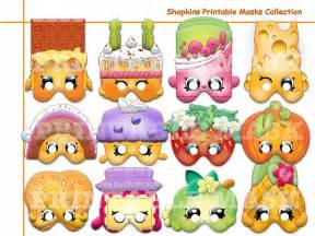 Unique shopkins printable masks party by holidaypartystar on zibbet