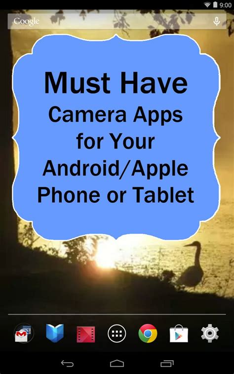 must have android widgets must have photography camera apps for your android or