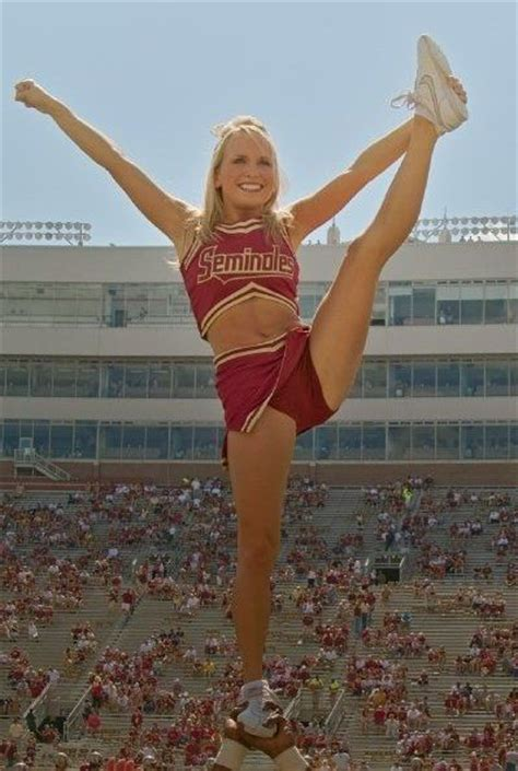 florida state college cheerleaders florida state seminoles i wish i could cheer still