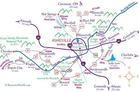 western carolina map of cities and towns downtown asheville nc map favorite places spaces