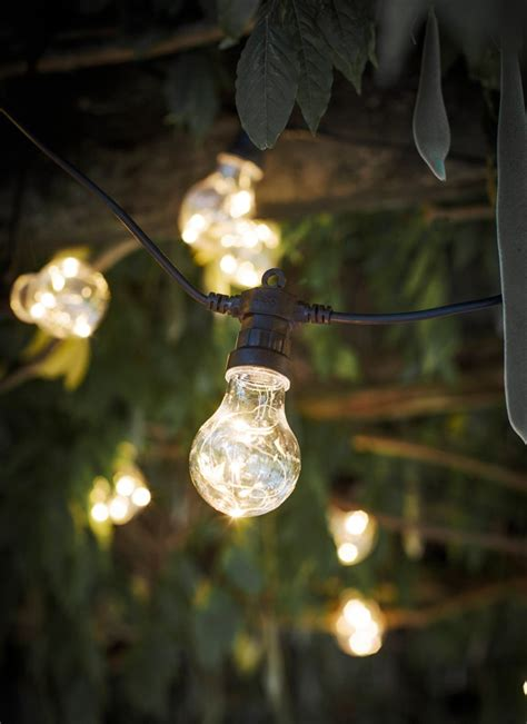 Festoon Outdoor Lights Festoon Lights Classic 20 Bulbs Garden Trading