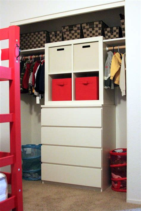 malm 4 drawer dresser and expedit 4 square shelf