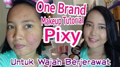 tutorial makeup untuk wajah berjerawat one brand makeup tutorial pixy kawaii untuk wajah