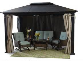10x13 Pomeroy Domed Top Gazebo by 6046085 Gazebos Outdoor Decor And Outdoor Accessories