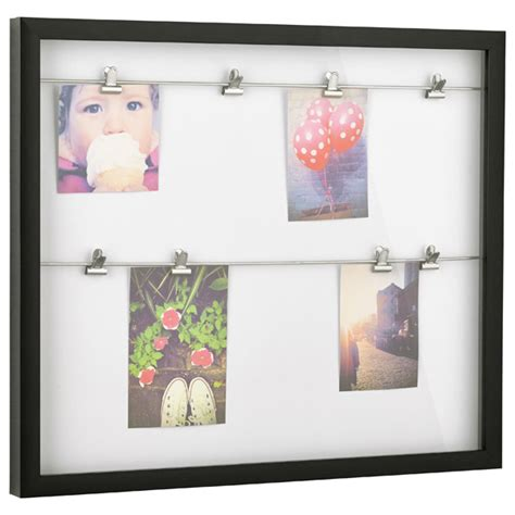photo display clips clipline photo display frame by umbra the container store