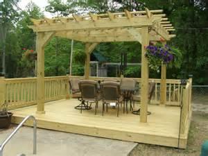 backyard pagoda deck ideas