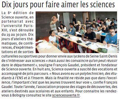 dix jours dans un 9782364680913 dix jours pour faire aimer les sciences association science ouverte