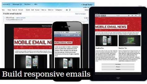 tutorial build responsive website 100 免费的html电子邮箱 newsletter模板 open资讯