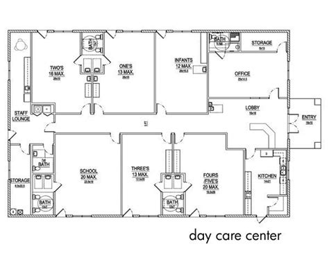 home daycare layout design day care center layout crafting ideas pinterest