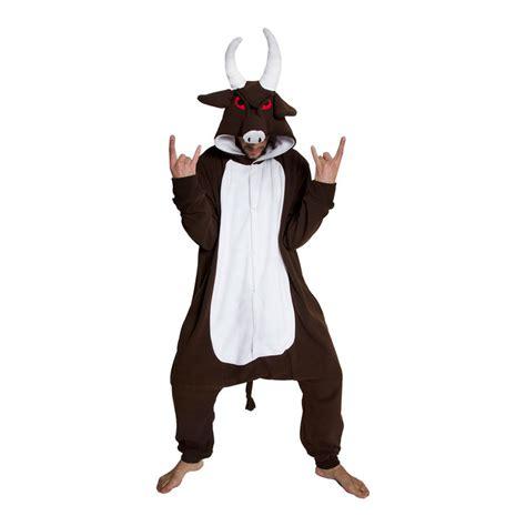 adult animal onesie  buffalo jumpsuit kigurumi
