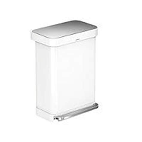 simplehuman bathroom bin simplehuman plastic bathroom bin white 6l