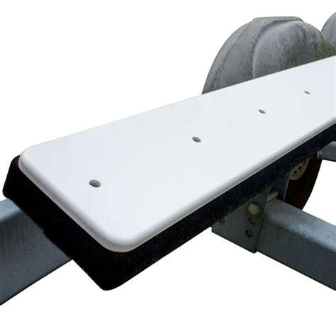 pontoon boat trailer bunk slides custom trailer bunk slides