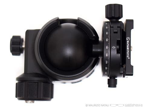 testa a sfera recensione sunwayphoto xb 52 testa a sfera con elevate
