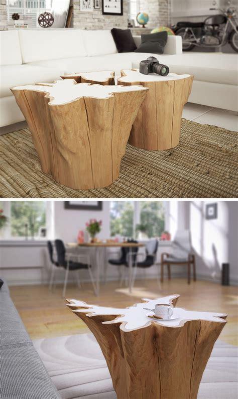 ideas  including tree stumps   home decor
