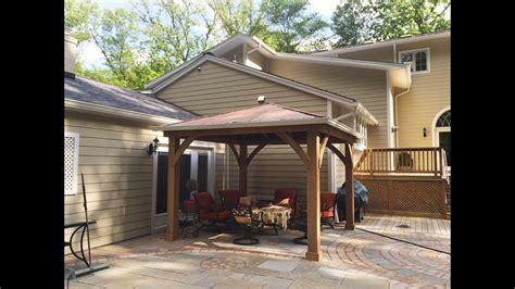 gazebo 12x12 a backyard gazebo at the kangs