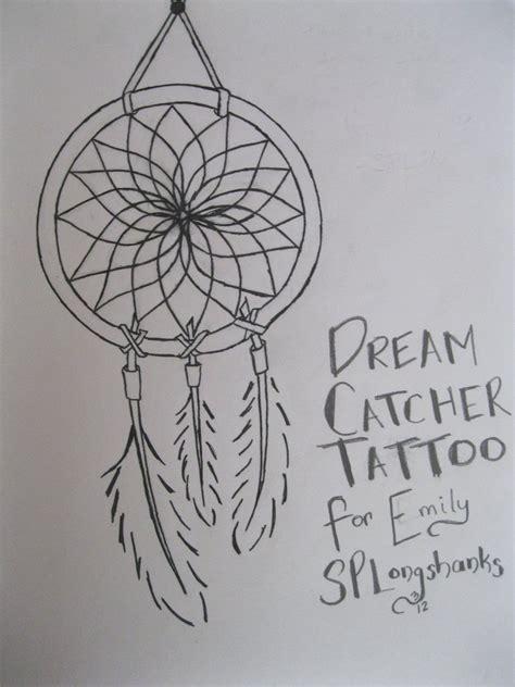 dream catcher small tattoo catcher by splongshanks on deviantart