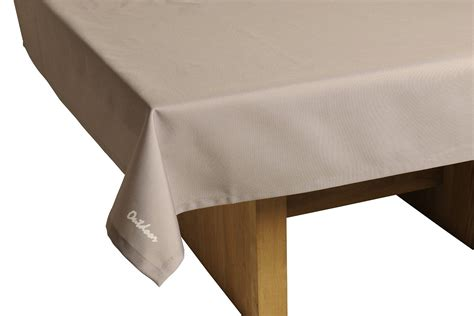 tischdecken outdoor outdoor tischdecke gartentisch decke 140cm x 240cm taupe