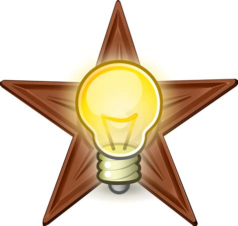 What Is A Type A Light Bulb File Brilliant Idea Barnstar Hires Png Wikipedia