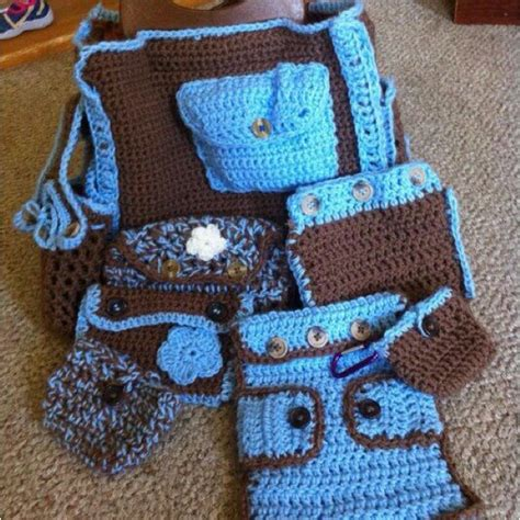 free crochet pattern baby bag crochet diaper bag for sale artesanato inteligente