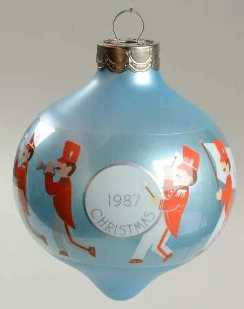 hallmark 1987 hallmark christmas ornaments at