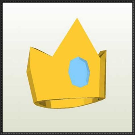 Papercraft Crown - papercraftsquare new paper craft adventure time