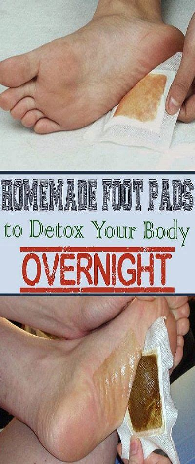 Detox Foot Patches Diy by Detox Foot Pads For Removing All The Dangerous
