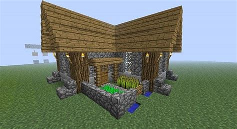 minecraft house simple simple and compact survival house minecraft project