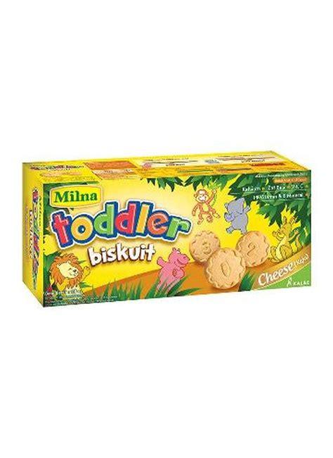 Biskuit Balita Milna milna biskuit balita toddler keju box 110g klikindomaret