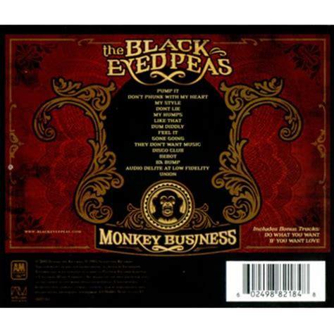 Cd Album Black Eyed Peas black eyed peas monkey business uk cd album cdlp 325300