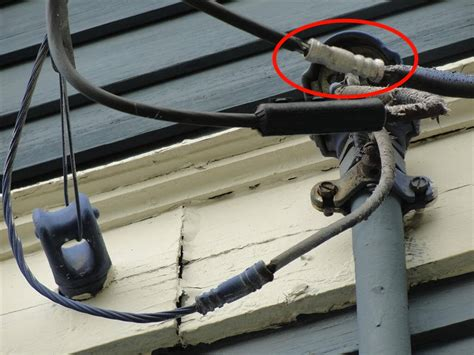 terminating live electrical wires tree branches exposed power lines who fixes what