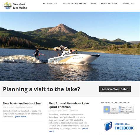 steamboat lake marina steamboat lake marina website