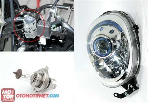 Lu Hid Scoopy Fi headl projector honda scoopy fi dijual rp 560 rebuan