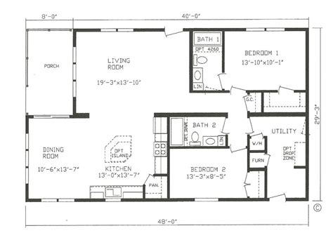 manufactured home plans mfg homes floor plans new manufactured homes floor plans