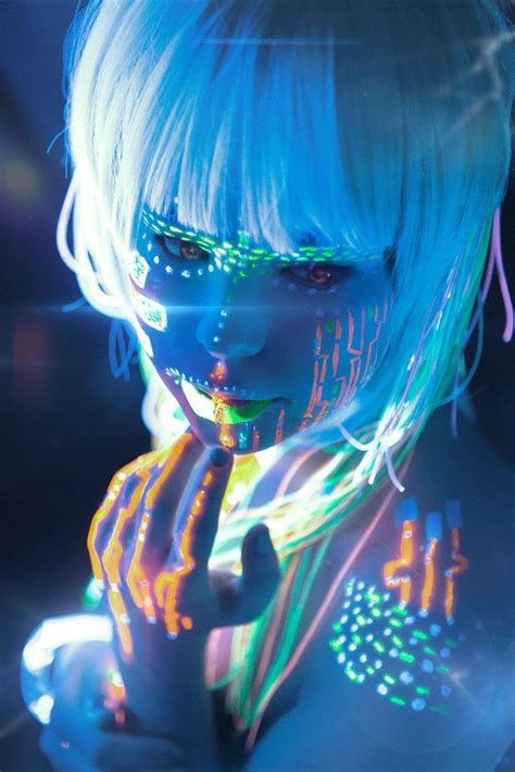glow in the paint city 42 best images about aerografia bodypainting