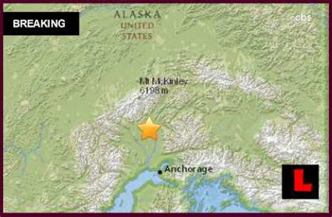 alaska earthquake 2015 today strikes north of anchorage