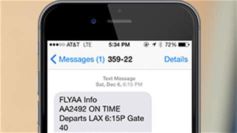 american airlines flight status mobile flight notifications mobile and app american airlines