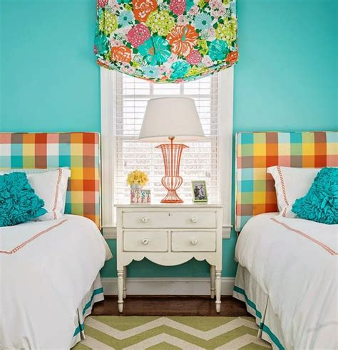 turquoise childrens bedroom 50 best images about two twin beds in a little guest room