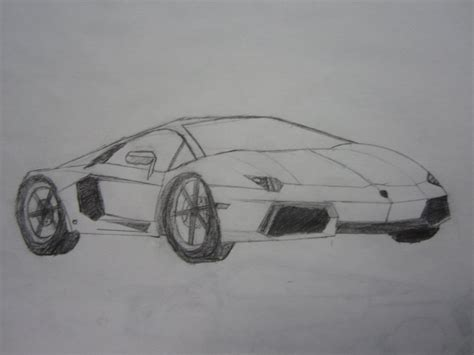 lamborghini aventador drawing how to draw lambo aventador