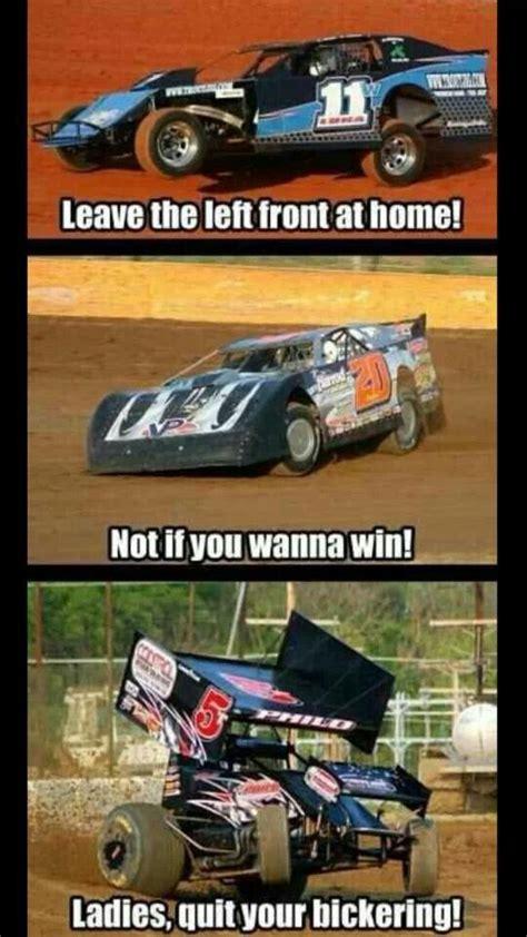 Racing Memes - dirt track racing memes