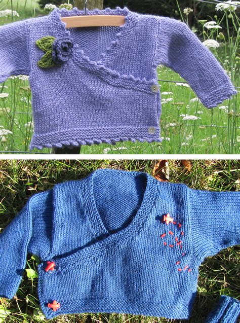 knitting pattern baby kimono sweater baby wrap sweater knitting patterns in the loop knitting