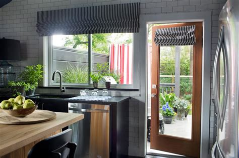 Hgtv Com Urban Oasis Sweepstakes - indoor and outdoor living a back door and kitchen window leading to the deck make