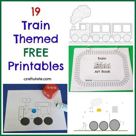 printable preschool train activities get loads of free printables for your kids that have a