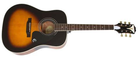 Gitar Akustik Elektrik Epipone Pro 1 Original 1 epiphone pro 1 plus eappvsch1 vintage sunburst akustik gitar