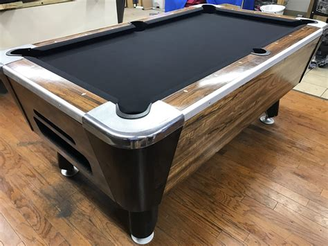 table 042617 valley used coin operated pool table used