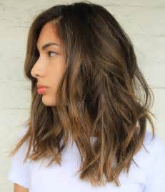 idears for brown hair with blond highlights medium length dark brown hair with blonde highlights