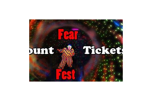 fear fest coupons columbia mo