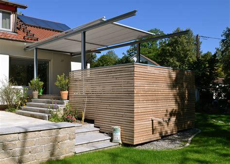 überdachung mit markise terrassen 252 berdachung mit markise stahlbau n 228 gele